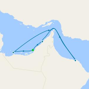 United Arab Emirates & Oman from Abu Dhabi