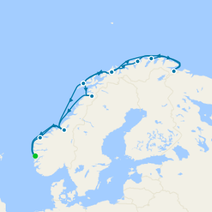Northern Lights Norwegian Classic Coastal Voyage