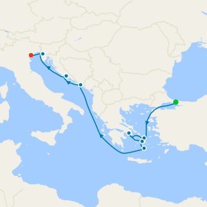 Greek Isles from Istanbul