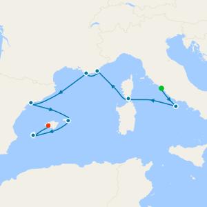 Quaint Coastal Towns & Mediterranean Charm from Rome