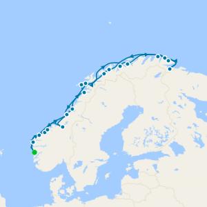 Summer Norwegian Classic Round Voyage
