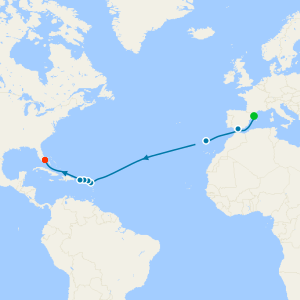 MSC Grand Voyage from Barcelona to Miami
