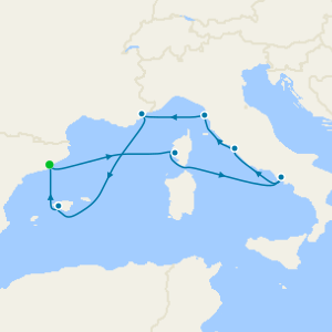 Easter Epic to Italy, France & Spain from Barcelona