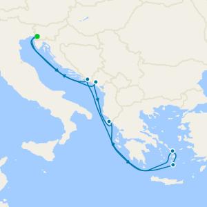 Lake Garda & Venice Stays with Greek Isles