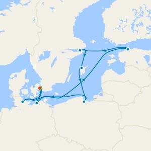 Scandinavia, Russia & Baltic from Copenhagen with Stay