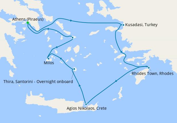 7nt Idyllic Aegean from Athens