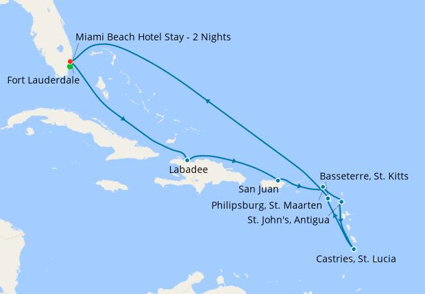 Miami Beach Hotel Stay - 2 Nights