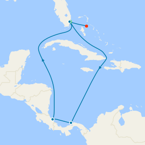 Dominican Republic & the Bahamas from Miami with Stay