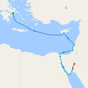 Mediterranean from Athens to Aqaba