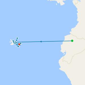 Galapagos from Baltra