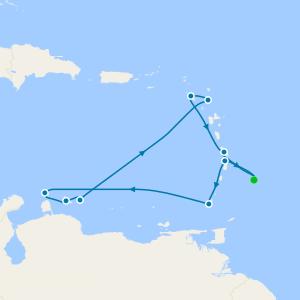 Holiday Antillean Odyssey - Barbados Roundtrip