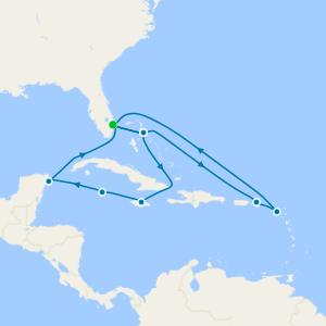 Caribbean Explorer from Ft. Lauderdale