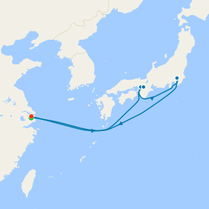 Kobe, Kyoto & Tokyo from Shanghai