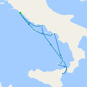 Amalfi & Sicily from Rome
