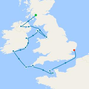 British Isles & Ireland Explorer from Greenock