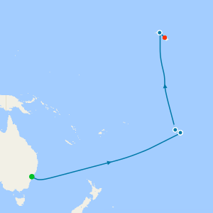 Transpacific - Sydney to Honolulu