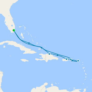Eastern Caribbean from Miami with Stay