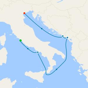 Amalfi & Adriatic Wonders Voyage from Rome