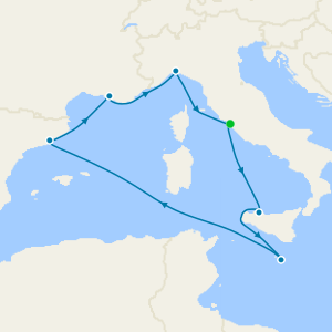 Italy, Malta, Spain & France from Rome with Stay