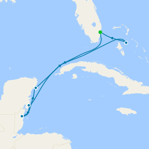 Key West, Belize & Grand Cayman from Fort Lauderdale with Stay