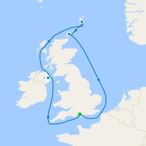 Scotland & Northern Ireland from Southampton