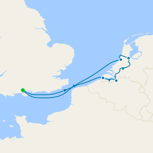 Belgium & the Netherlands Break from Southampton