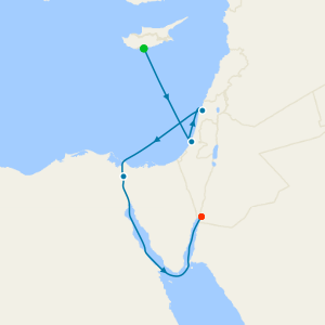Aegean Escape from Cyprus to Aqaba