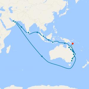World Cruise from Sydney