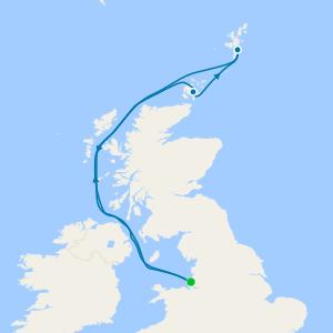 Scottish Lochs & Isles from Liverpool