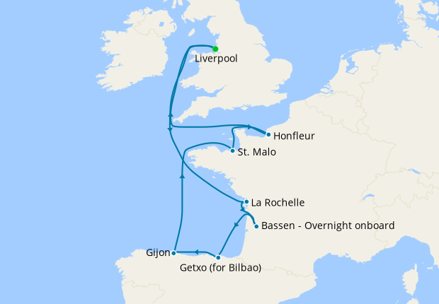 French River Cruising from Liverpool