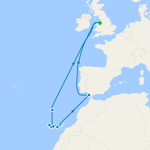 Journey to the Azores from Liverpool