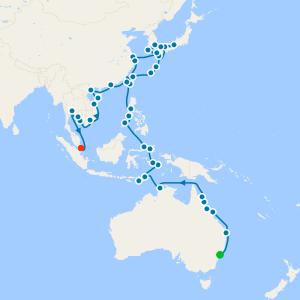 Australia & Asian Splendours from Sydney