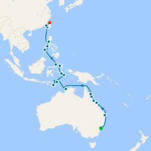Queensland Coast & Tropical Treasures from Sydney