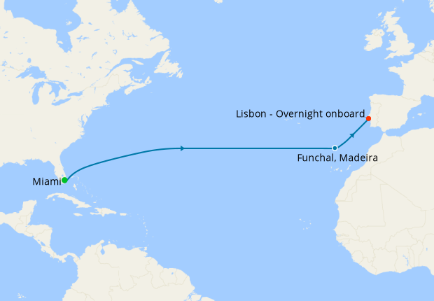Atlantic Quest from Miami to Lisbon