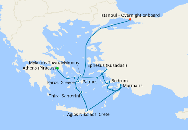 Black Sea Voyage from Athens
