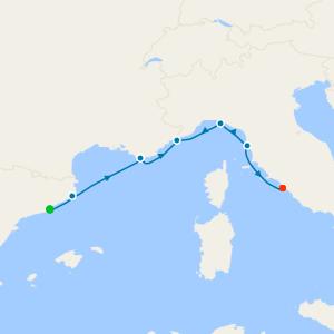 Mediterranean Jewels Voyage from Barcelona