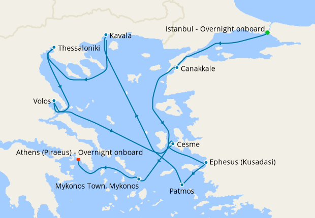 Black Sea & North Greece Voyage from Istanbul