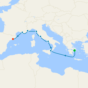 Mediterranean Mosaic Voyage from Athens