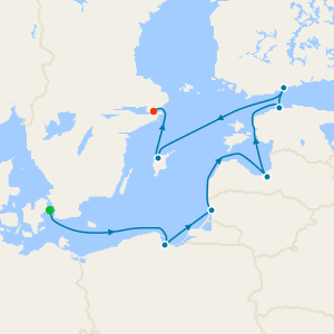 St. Pete & The Baltic Voyage from Copenhagen