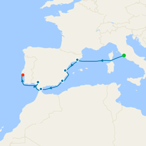 Spain Intensive Voyage from Rome