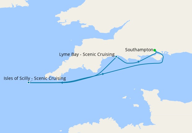 Lyme Bay - Scenic Cruising