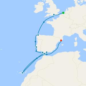 Transatlantic Miami To Barcelona