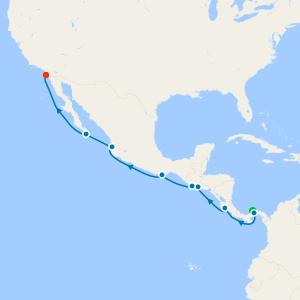 Panama Canal from Colón