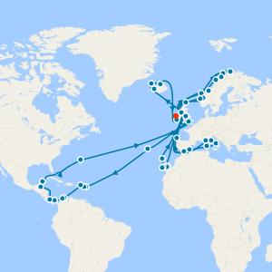 World Cruise from Southampton
