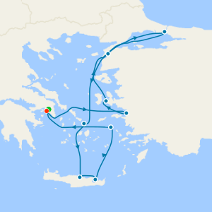 Black Sea Voyage from Athens with Stay