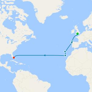 Transatlantic from Southampton to Miami