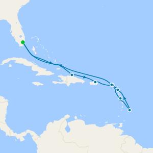 Antiguan Allure - Miami Roundtrip