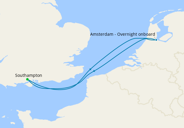 Amsterdam Getaway from Southampton