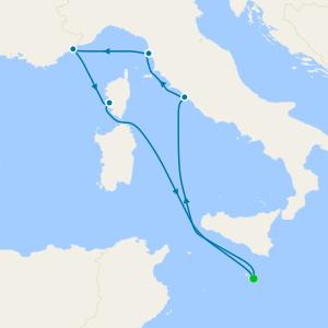 Western Mediterranean from Malta