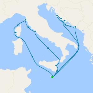 Western & Central Mediterranean from Malta